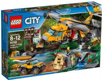 LEGO City Jungle Air Drop Helicopter 60162
